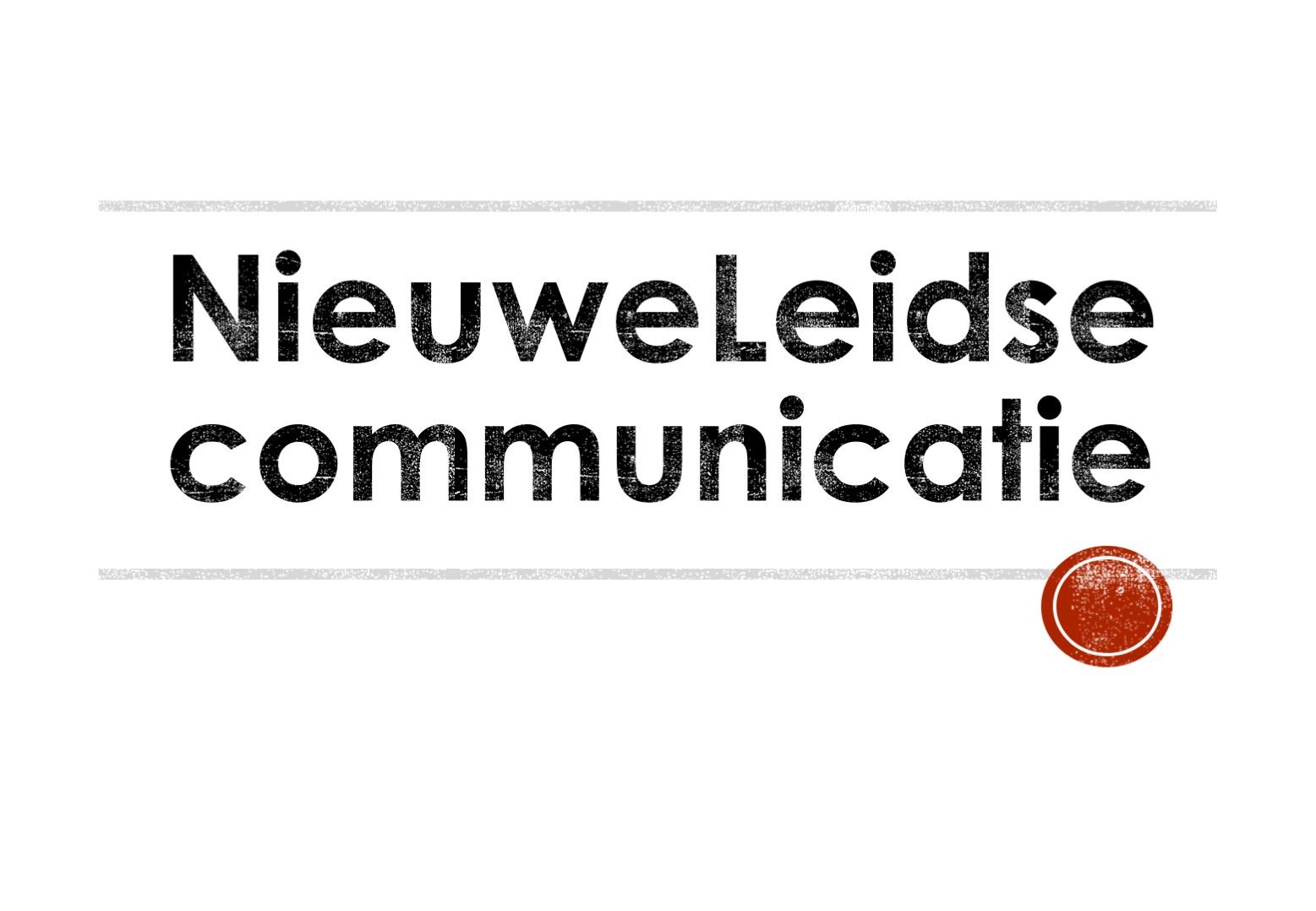 NieuweLeidse Communicatie Logo